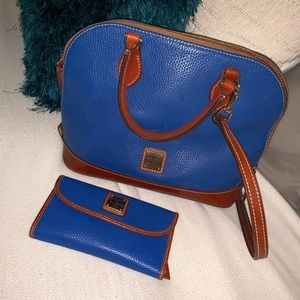 Dooney and Bourke purse and matching wallet.